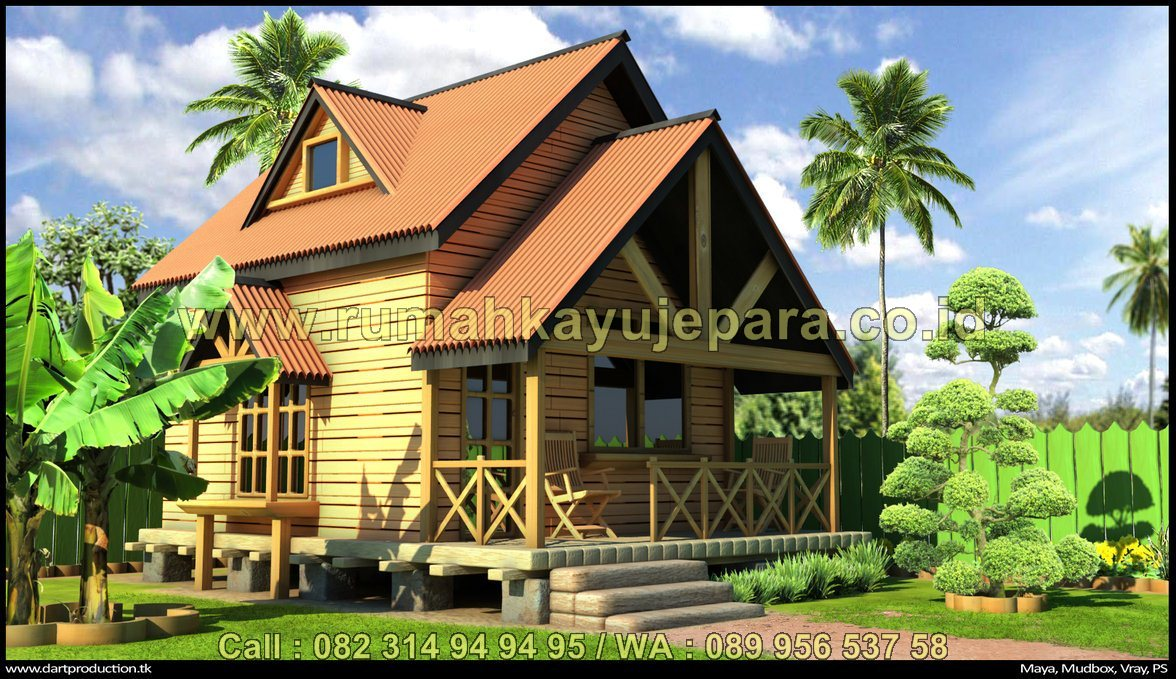 Rumah Kayu Kelapa