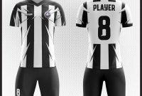 jersey hitam putih