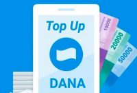 cara top up dana via hotelmurah