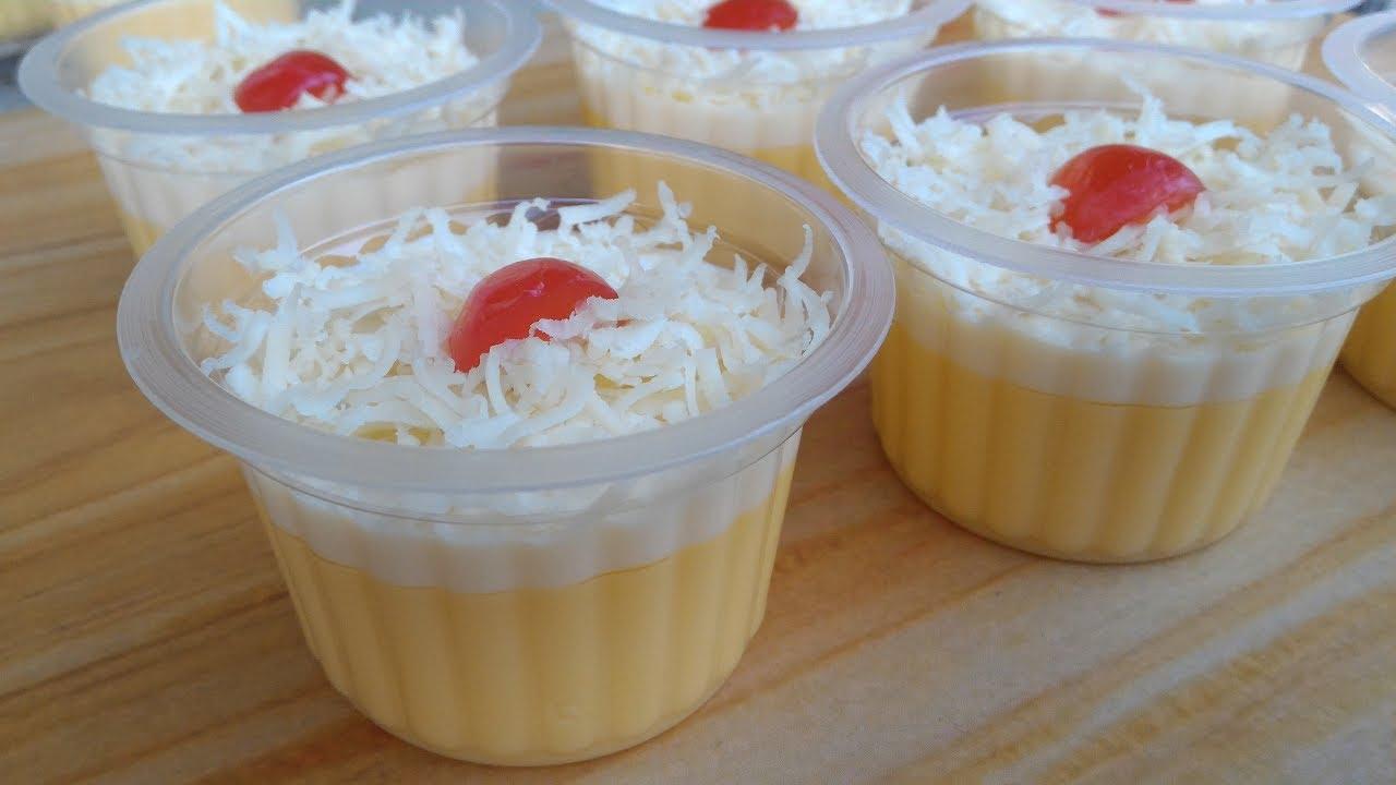 Resep Puding Jagung Susu Keju
