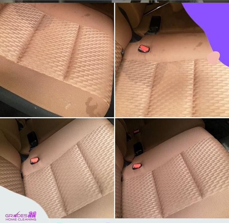 cara menghilangkan noda tinta di jok mobil
